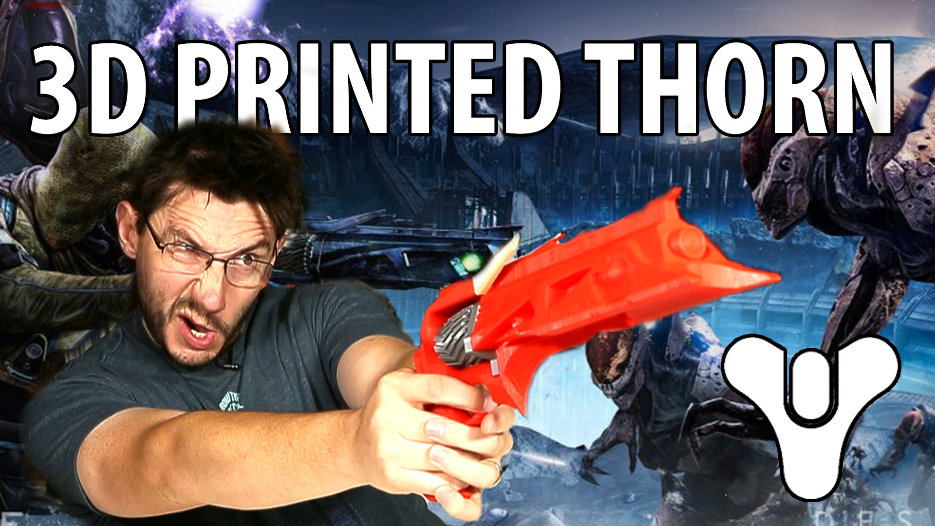 Assembling the 3D Printed Thorn Year 3 from Destiny