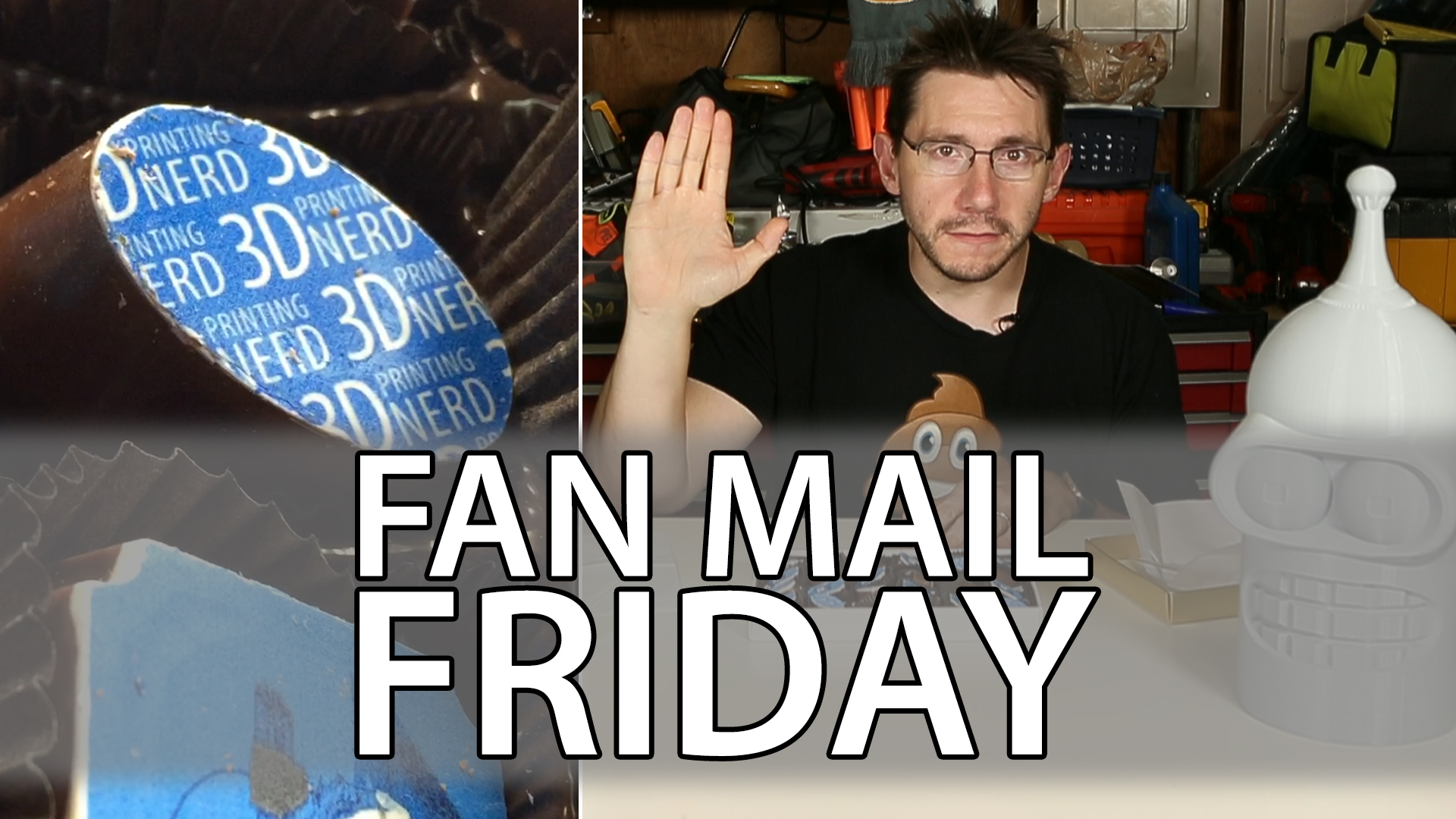 Fan Mail Friday 019 – 3D Printed Chocolates!