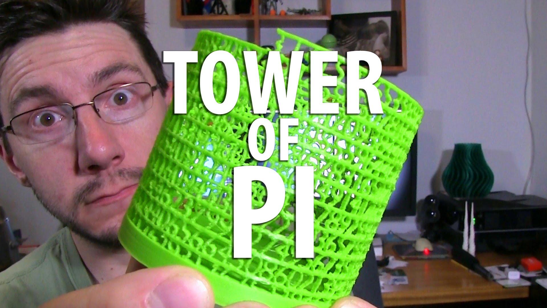 3D Printing Pi – Happy Pi Day!