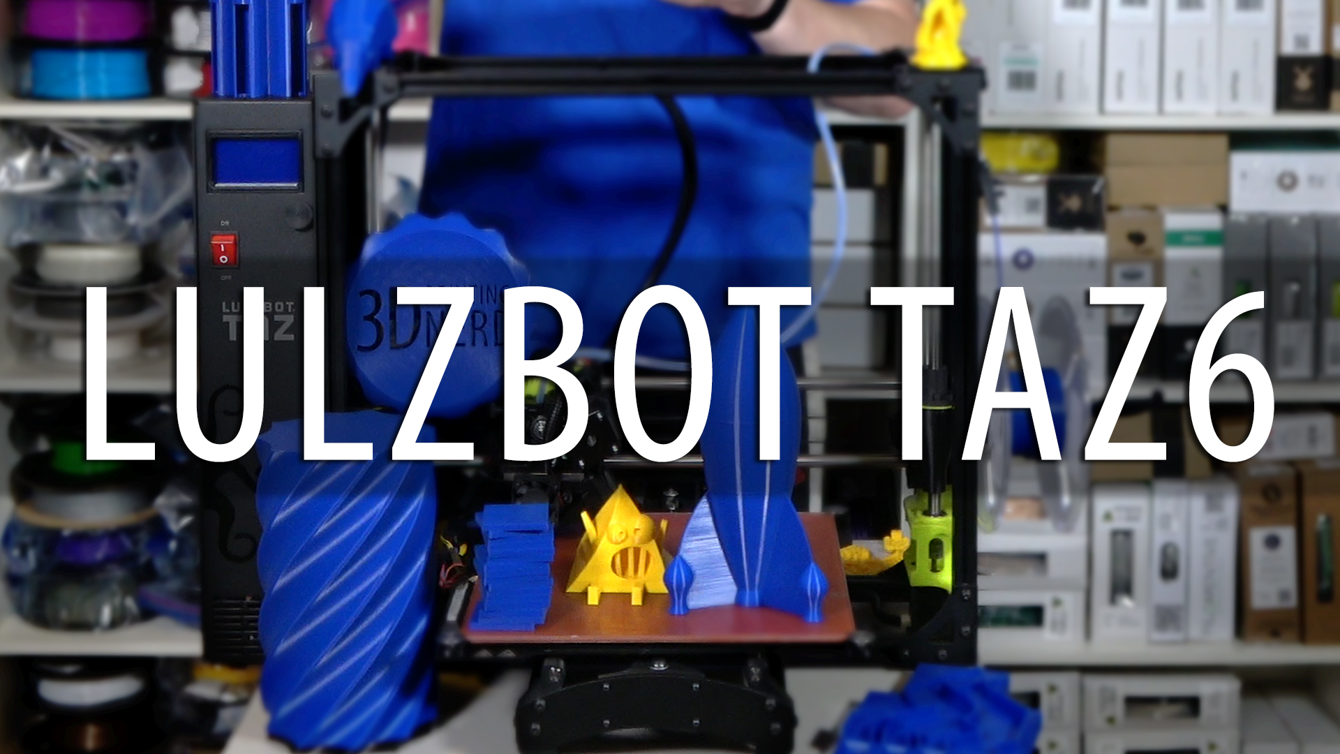Lulzbot TAZ6 3D Printer Review
