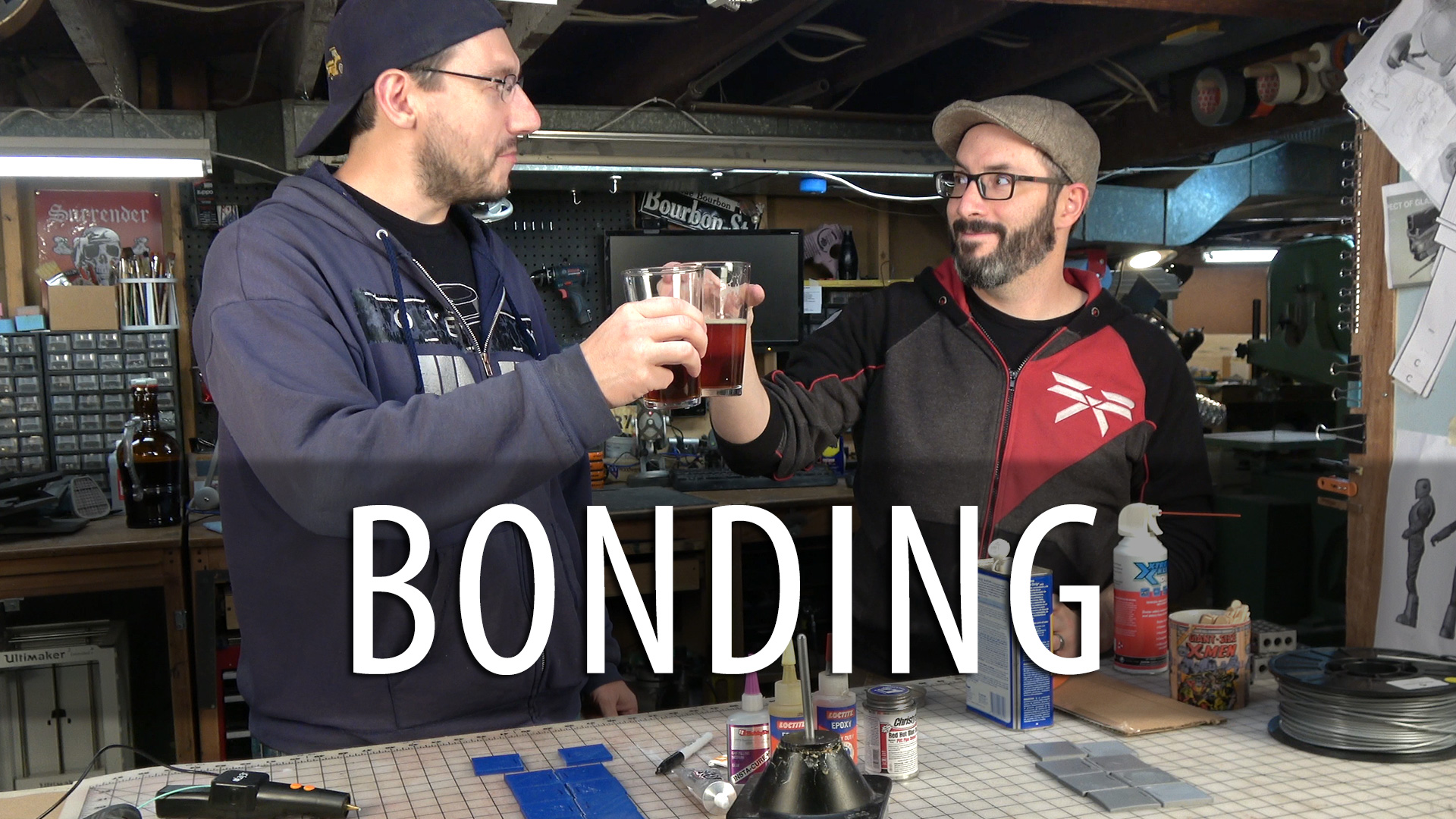 Testing 3D Print Bonding Methods with Punished Props (Glue/Epoxy/Welding)