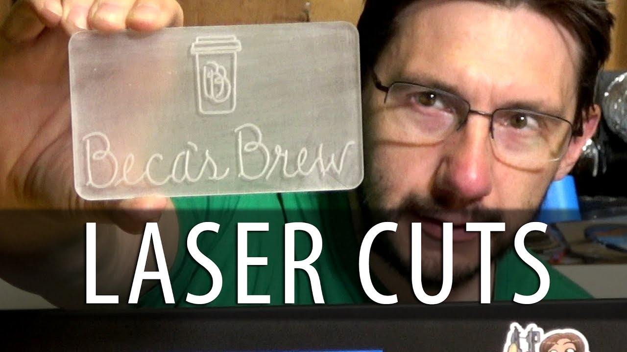 Laser Cutting Acrylic for a Gift on the Full Spectrum Muse