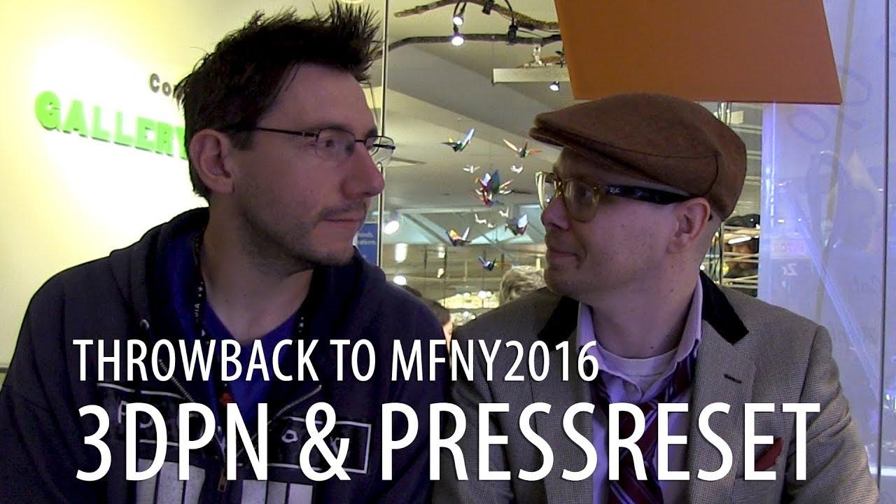 Chatting with Preston / PRESS RESET