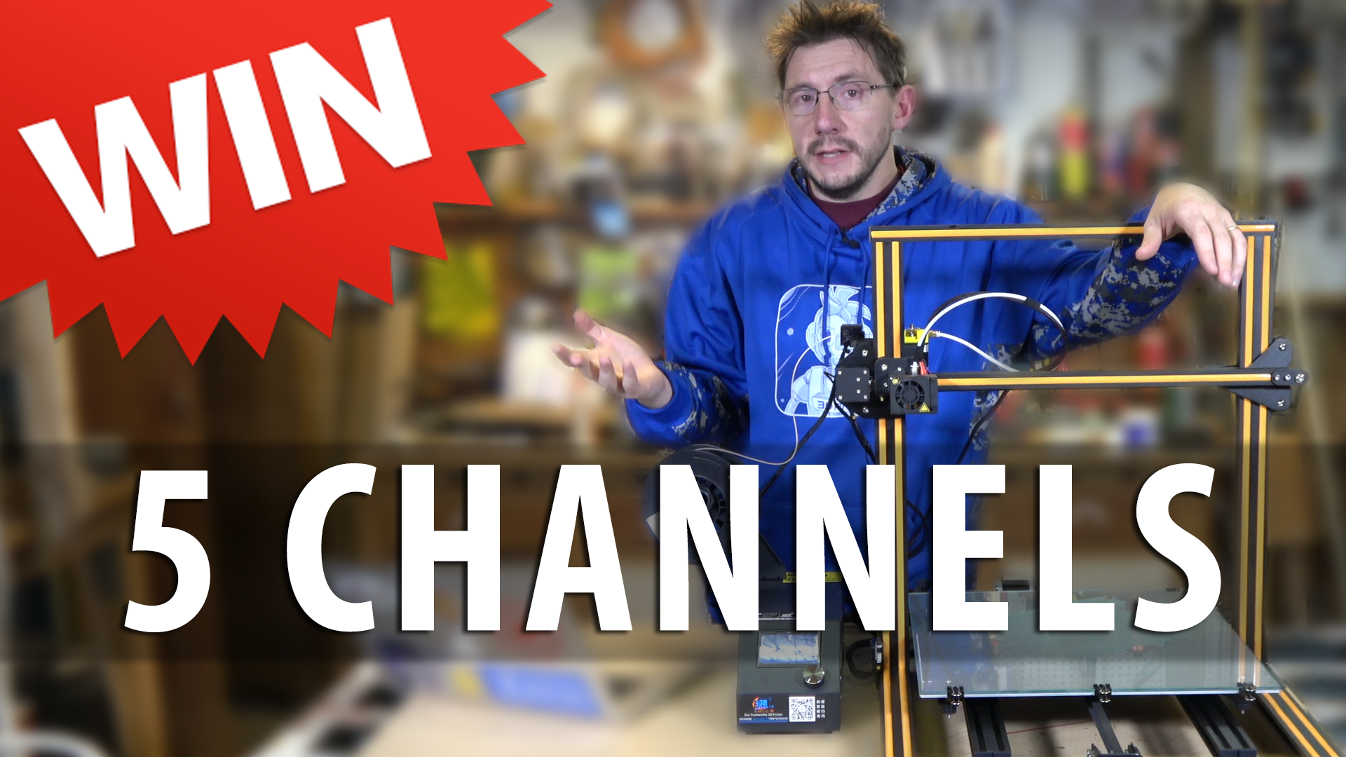 5 YouTube Channels to Watch / Win a 3D Printer