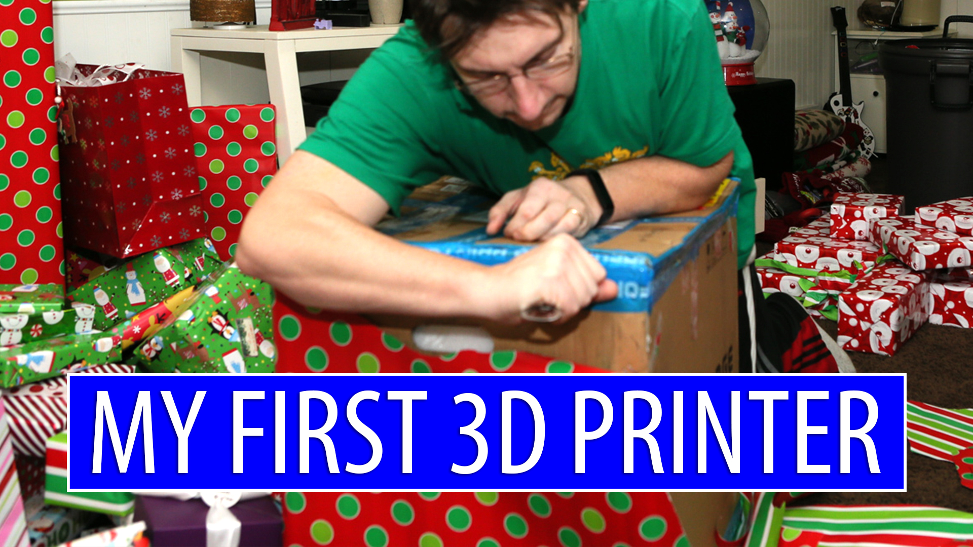 Did You Get a 3D Printer for Christmas? I Got a 3D Printer for Christmas 3 Years Ago!