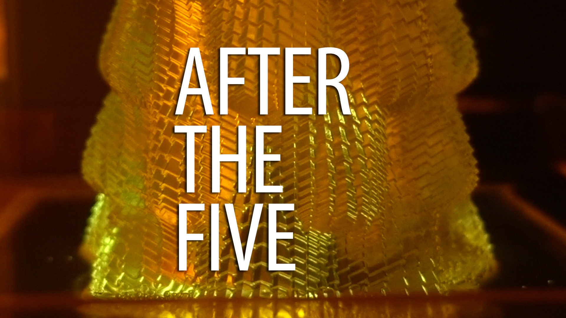 AFTER THE FIVE – Cuboid Vase