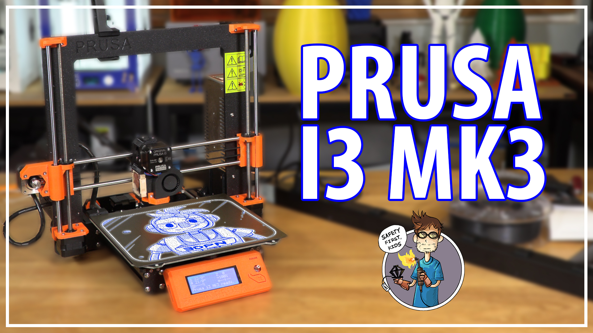 Does the Prusa i3 mk3 3D Printer Work Right Out Of The Box? / First Impressions & 3D Printing