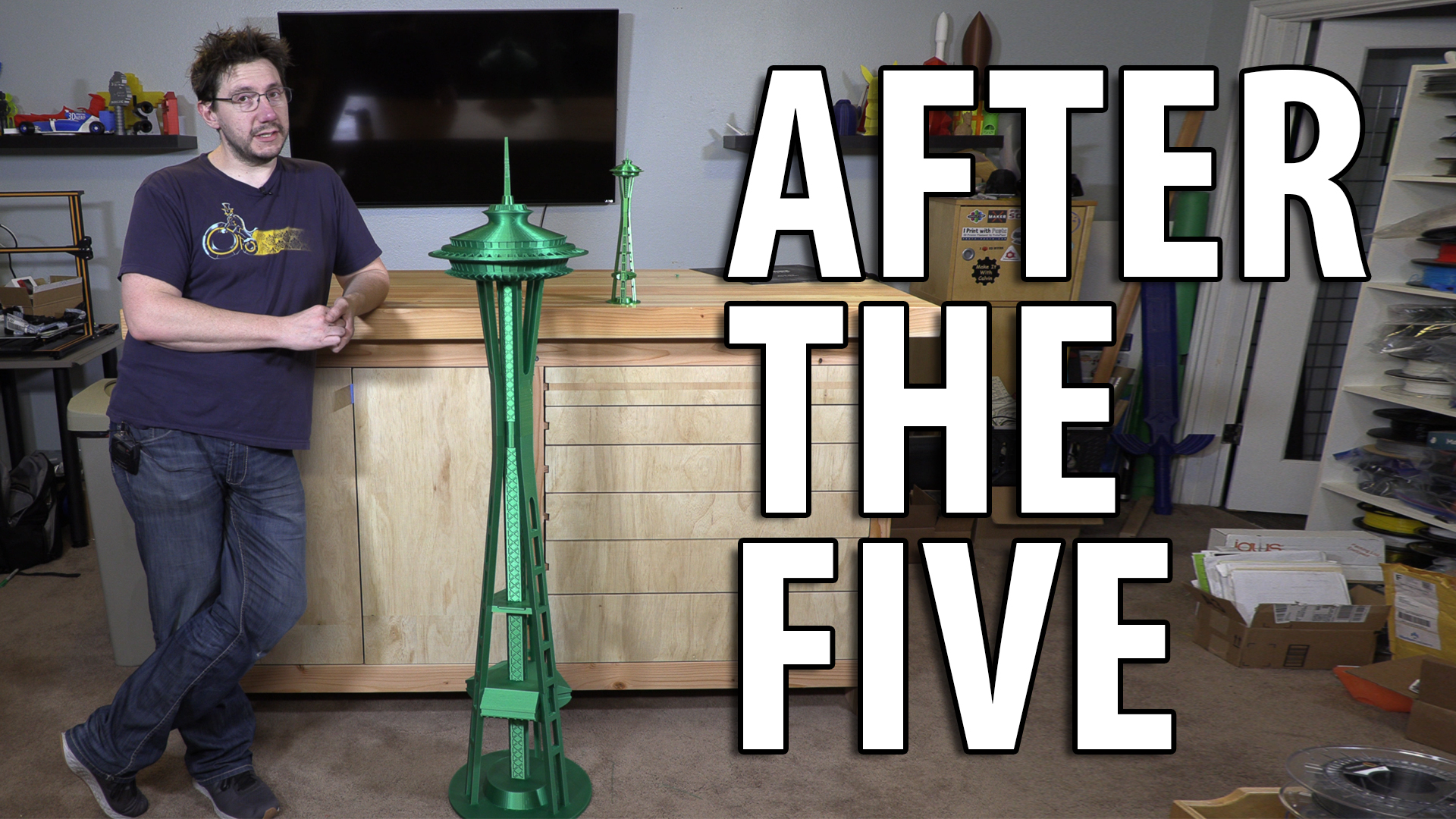 After The Five – Emerald City Space Needle