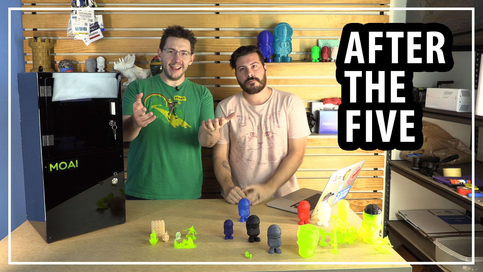 After The Five – Peopoly Moai SLA Resin 3D Printer at Matterhackers
