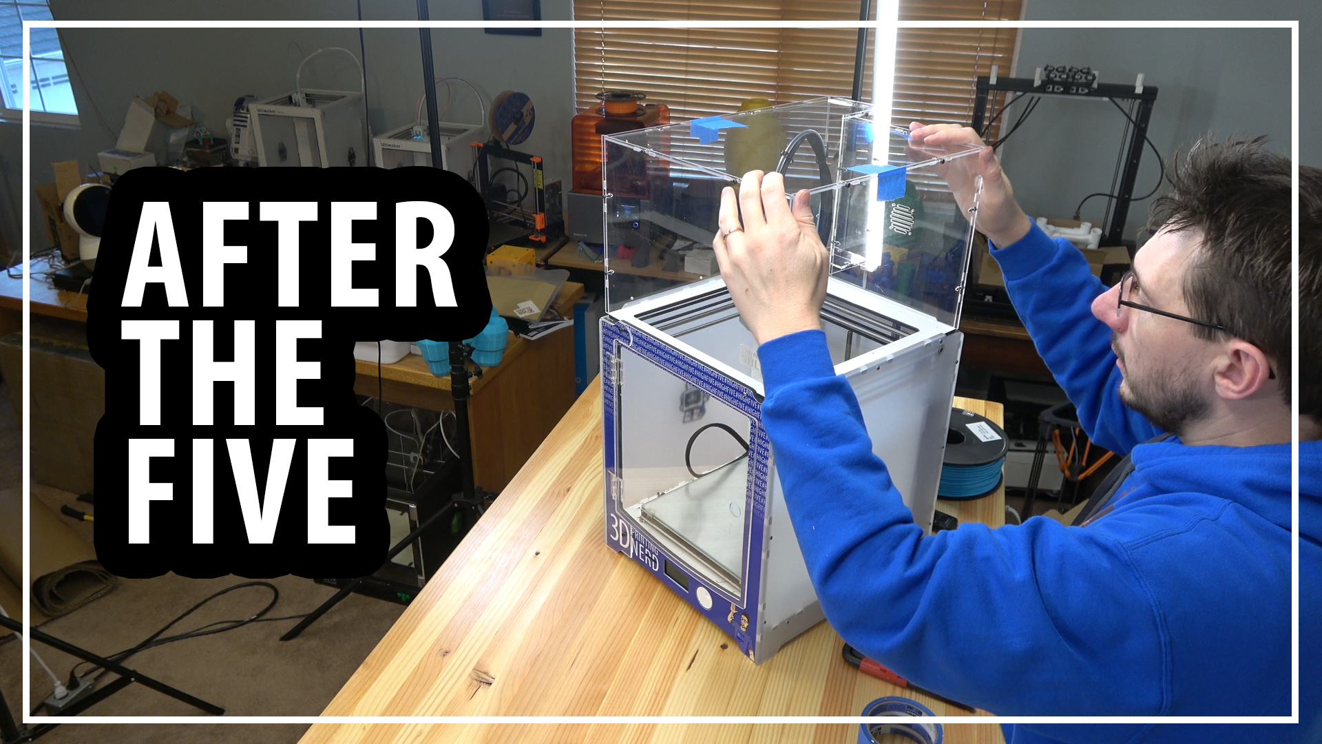 After The Five – Ultimaker Enclosure