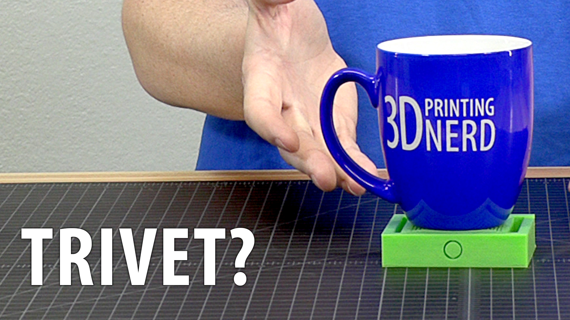 3D Printing Crazy Spiral Trivet Coaster Basket Things!