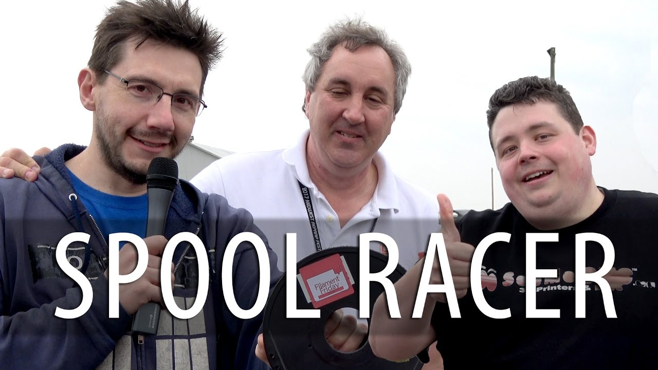#MRRF2017: Chuck Hellebuyck's Spool Racer Pushed by Barnacules Nerdgasm