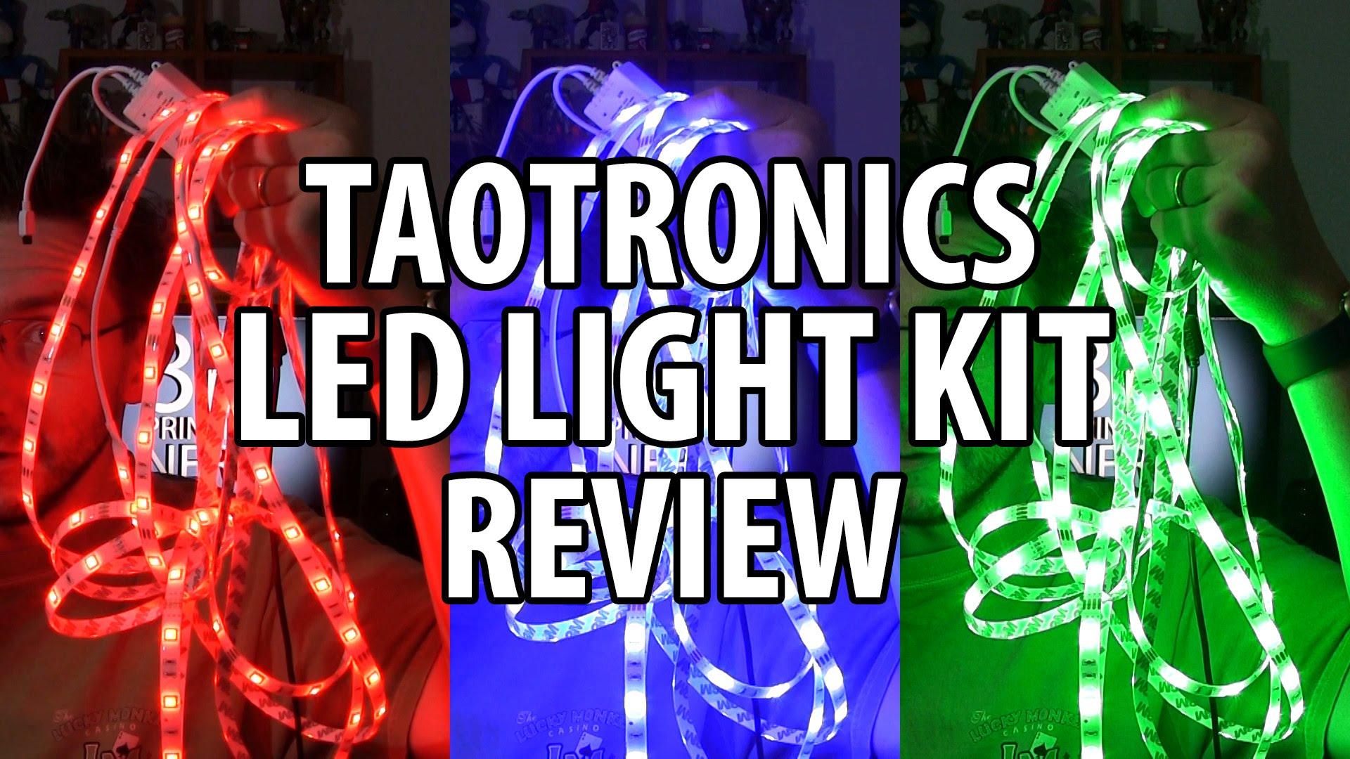 TaoTronics LED Light Kit Review