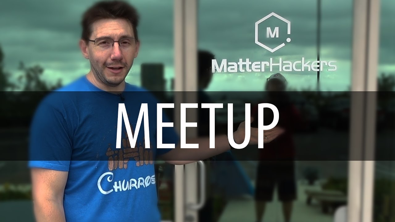 Matterhackers Meetup & Bay Area Maker Faire Preview
