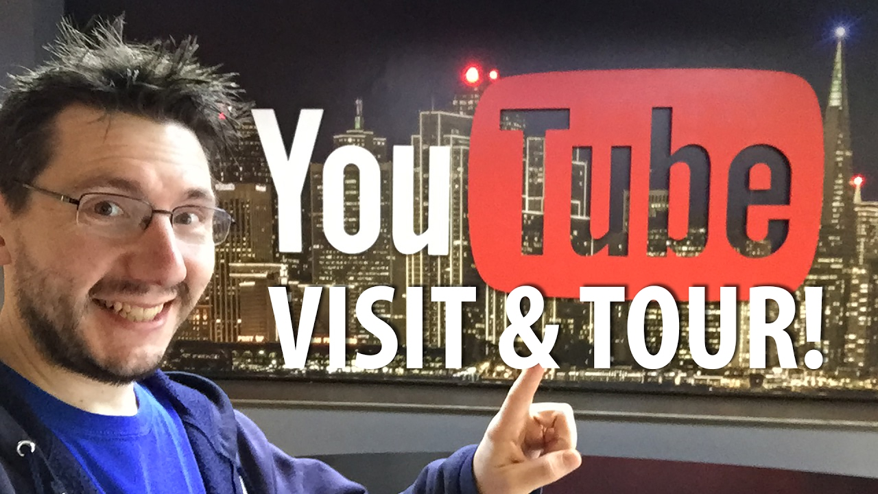 My Trip to YouTube HQ!