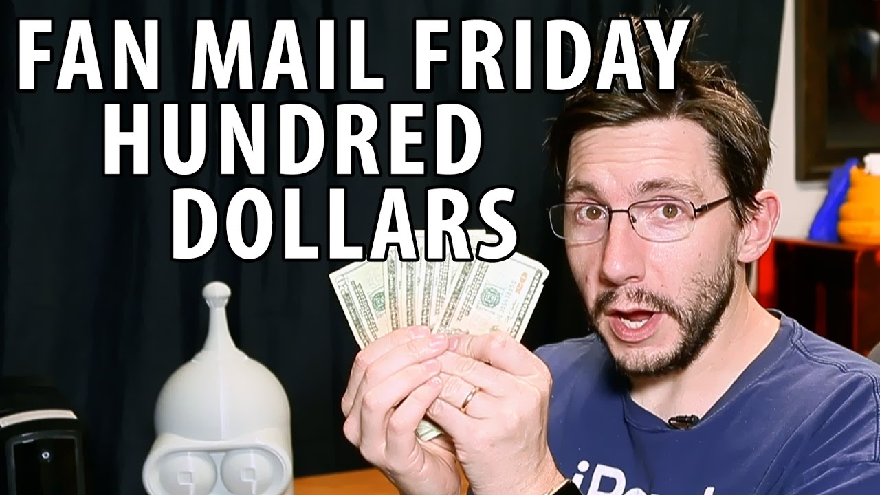 Fan Mail Friday 022 – HUNDRED DOLLARS and Thanksgiving Hangover