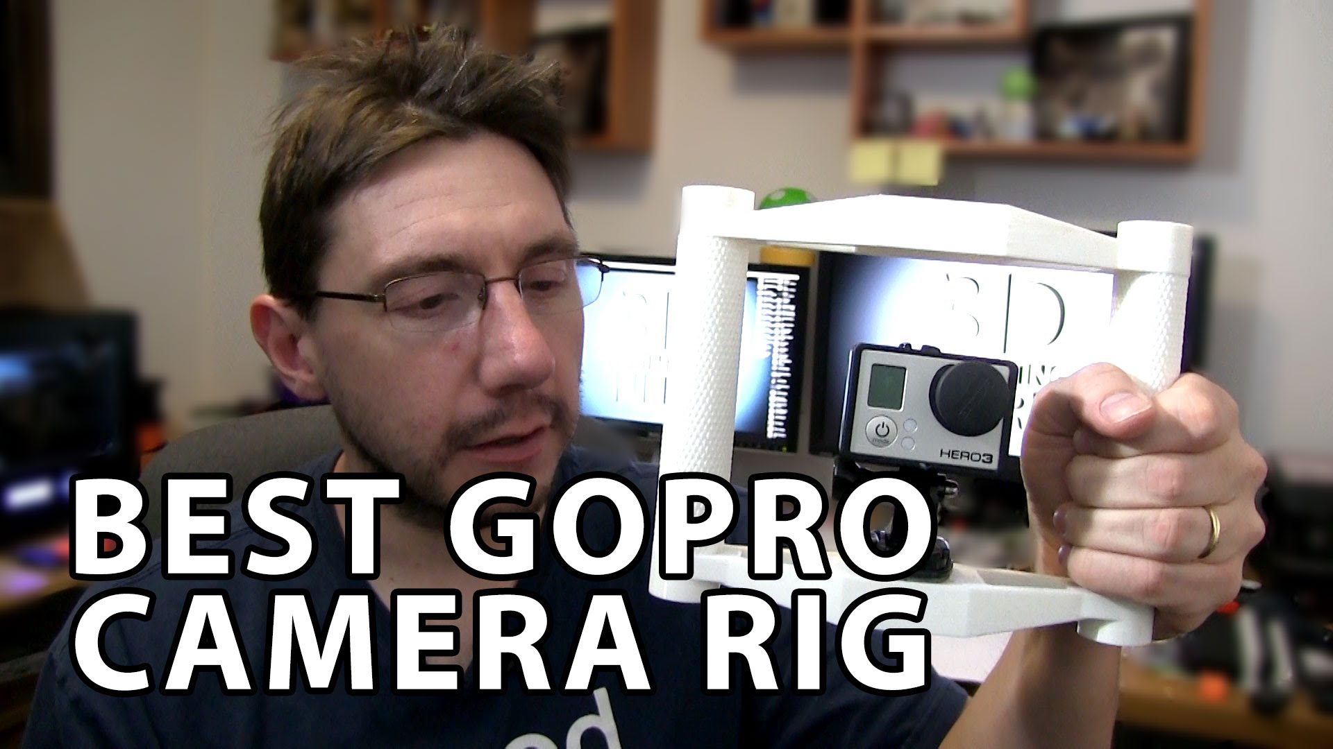 Best 3D Printed GoPro Camera Rig