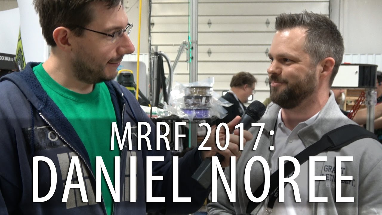 #MRRF2017 Chatting with Daniel Noree of OpenRC and 3DBenchy!