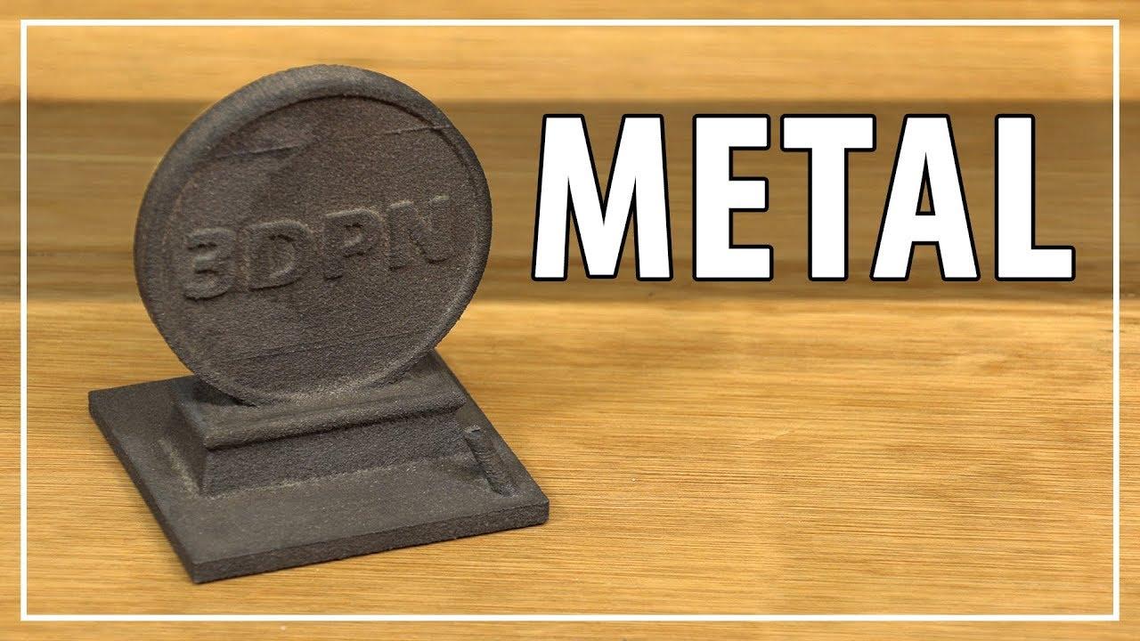 3D Printing Metal with the Iro3D Desktop Metal 3D Printer – Solid High Carbon Steel Parts!