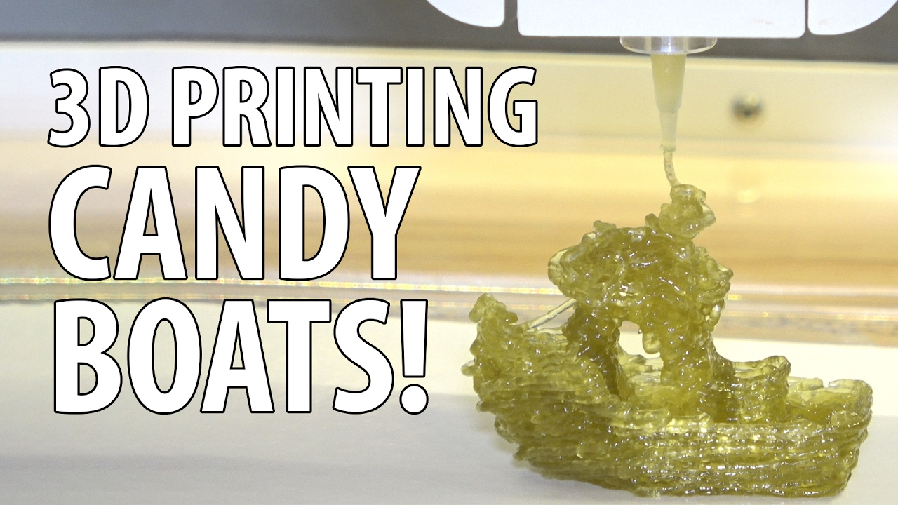3D Printing a Gummy 3DBenchy with the Magic Candy Factory