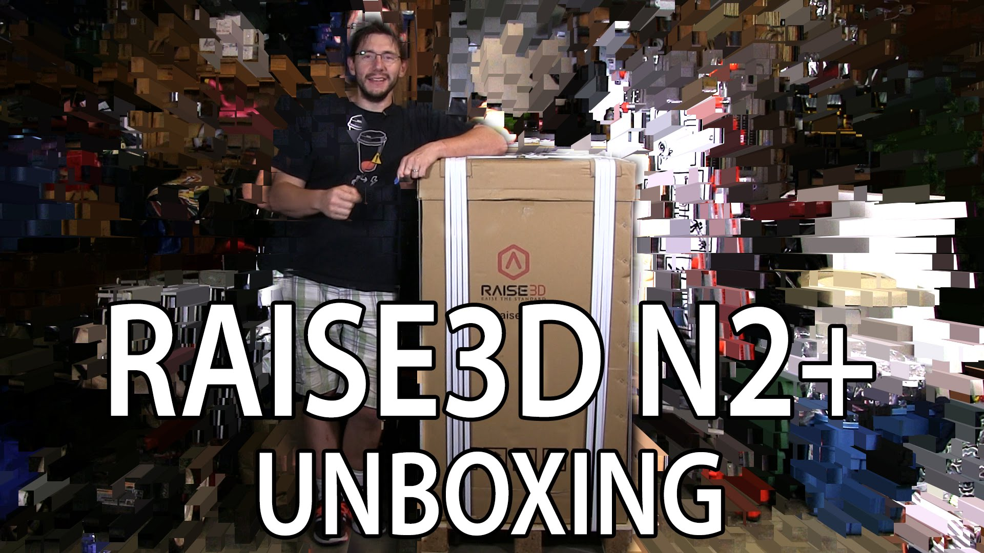 3D Printer: Raise3D N2+ Unboxing and First Use