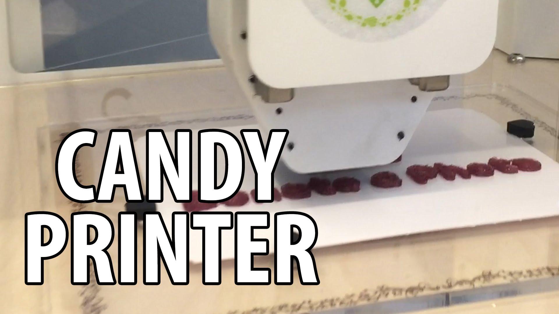 3D Printing: Katjes Magic Candy Factory at #NerdHQ
