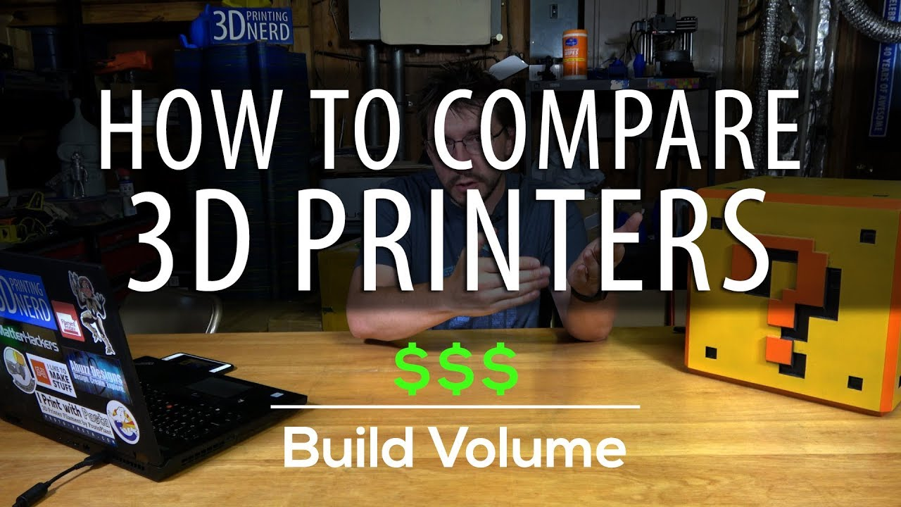 How To Initially Compare 3D Printers Using Price Per Build Volume