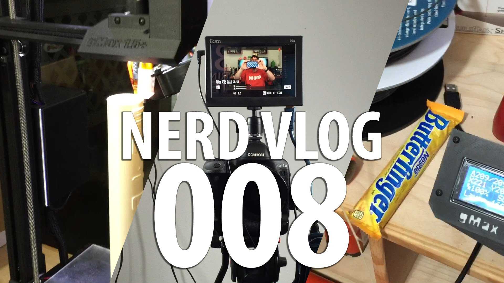 Nerd Vlog 008 (gMax, Proto Pasta, SpaceX, Butterfinger)