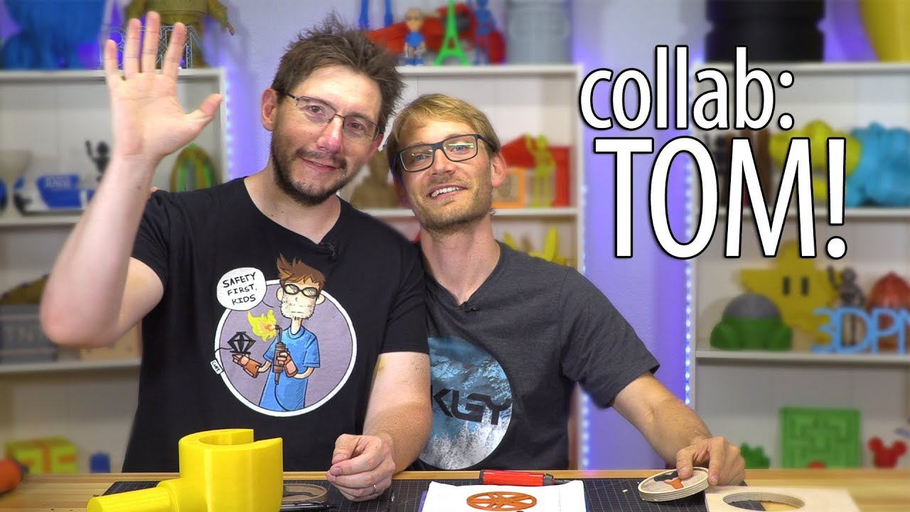 3D Printing and CNC Milling Drink Coasters with Tom Sanladerer!