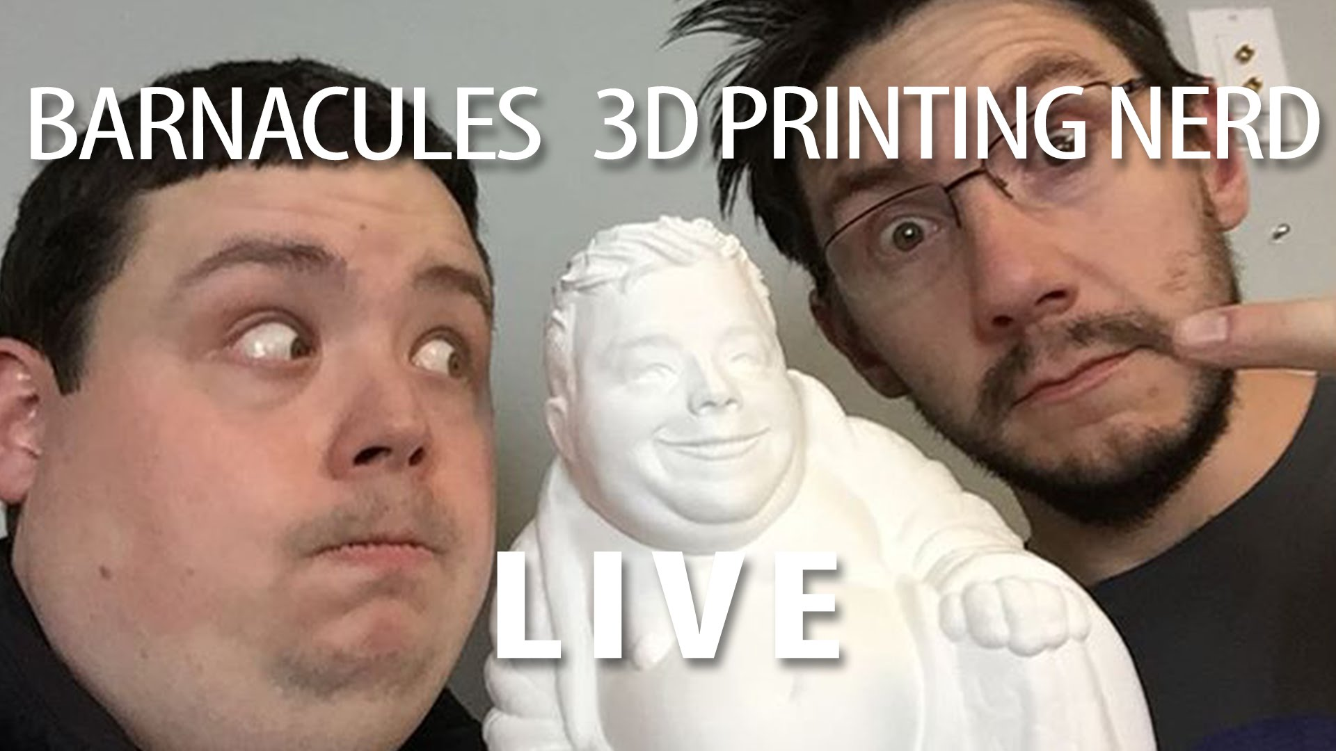 LIVE: Discussing 3D Printing with Barnacules Nerdgasm