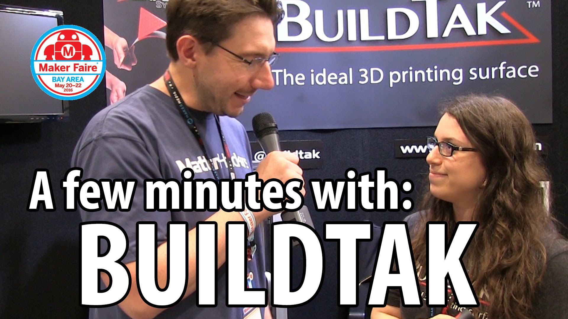 3D Printing: BuildTak at Maker Faire 2016