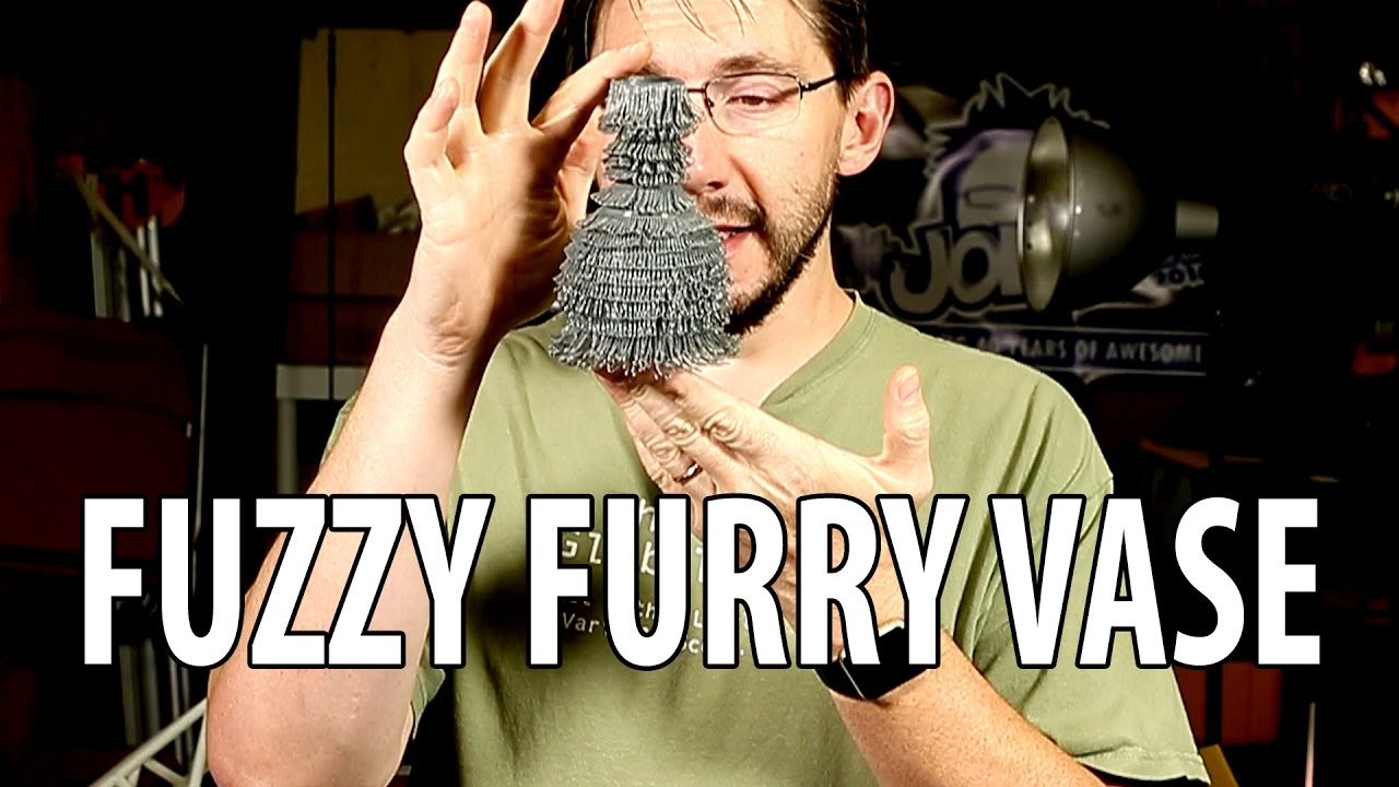 3D Printing: Fuzzy Furry Vase by Daniel Noree