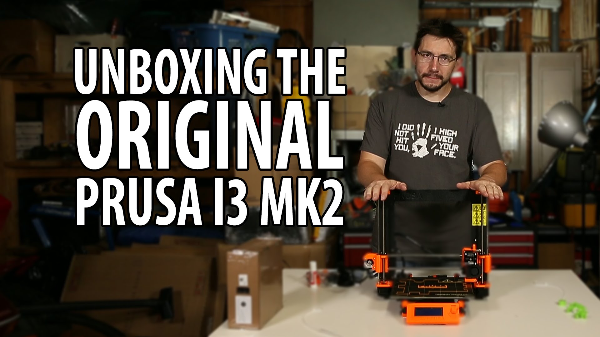 3D Printing: Original Prusa i3 mk2 3D Printer Unboxing and First Use