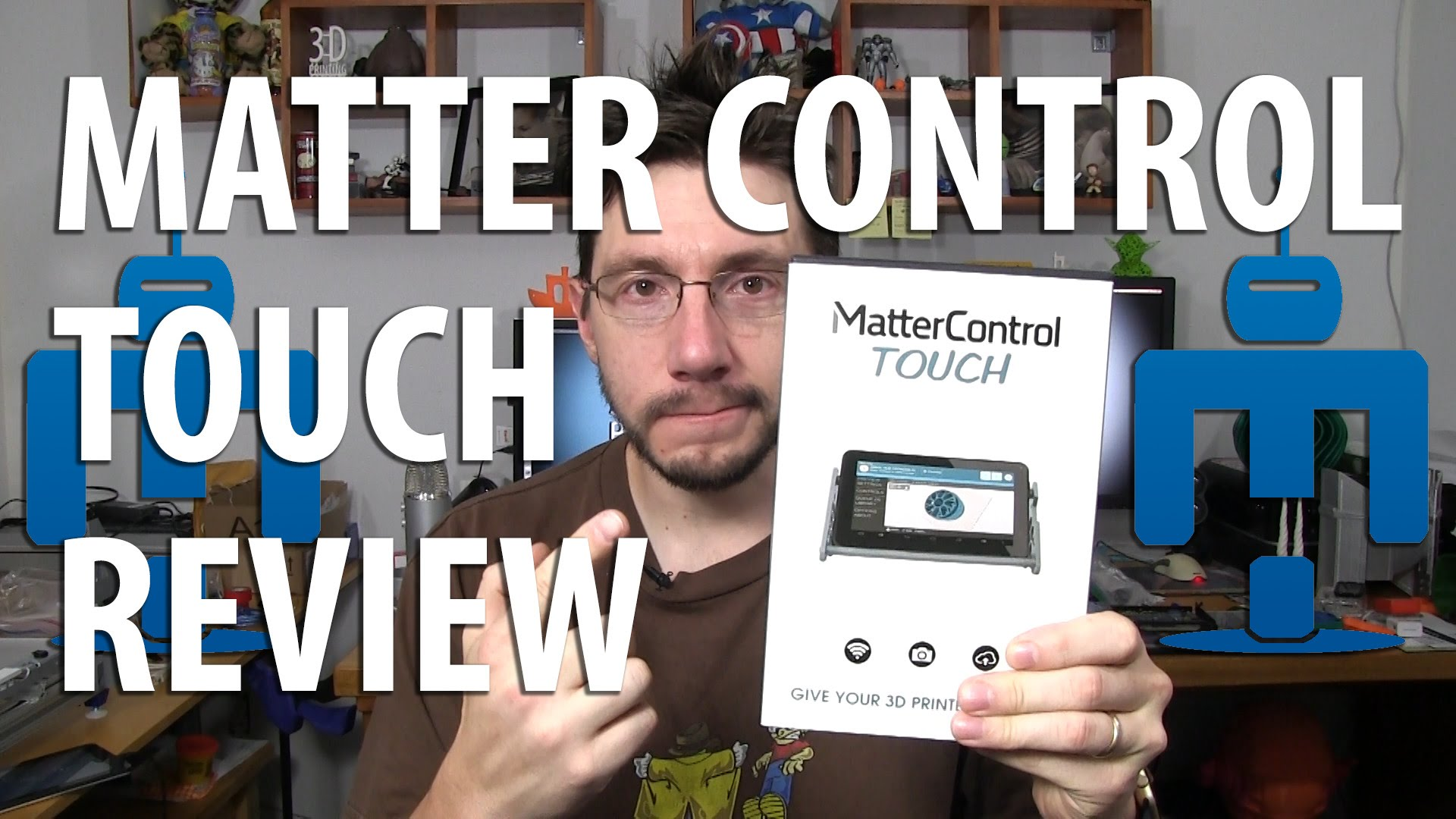 Matterhackers Matter Control Touch Tabelet for 3D Printers Review