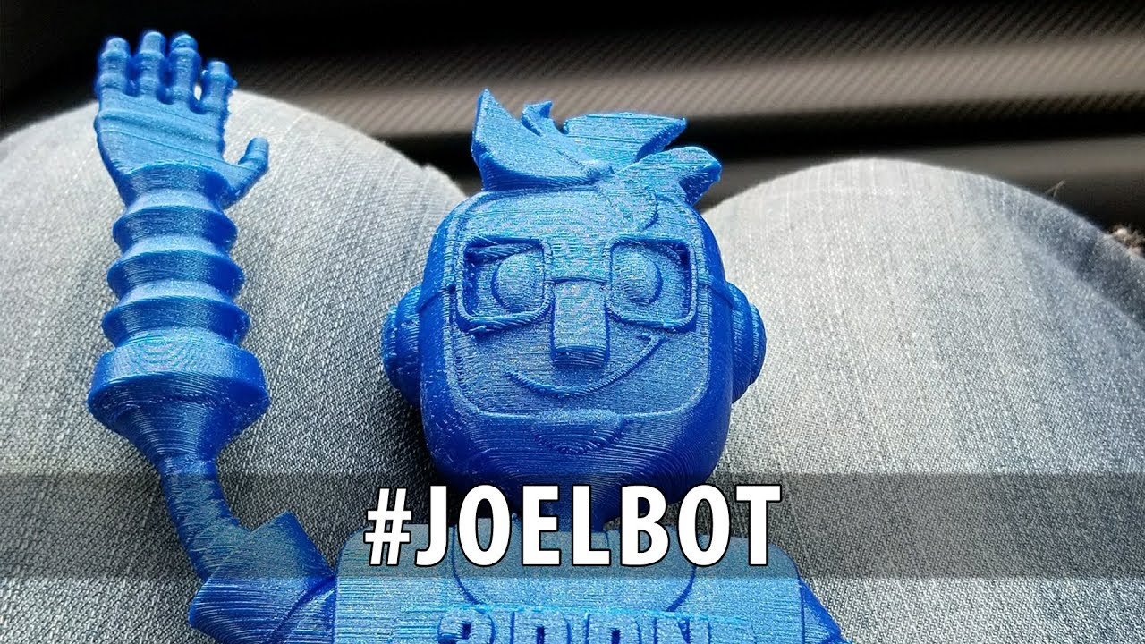 #JoelBot – 3D Printing One of the Coolest Models I've Ever Seen!