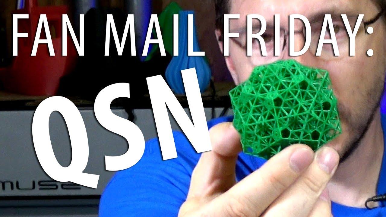 Fan Mail Friday – Quasicrystalline Spin Network