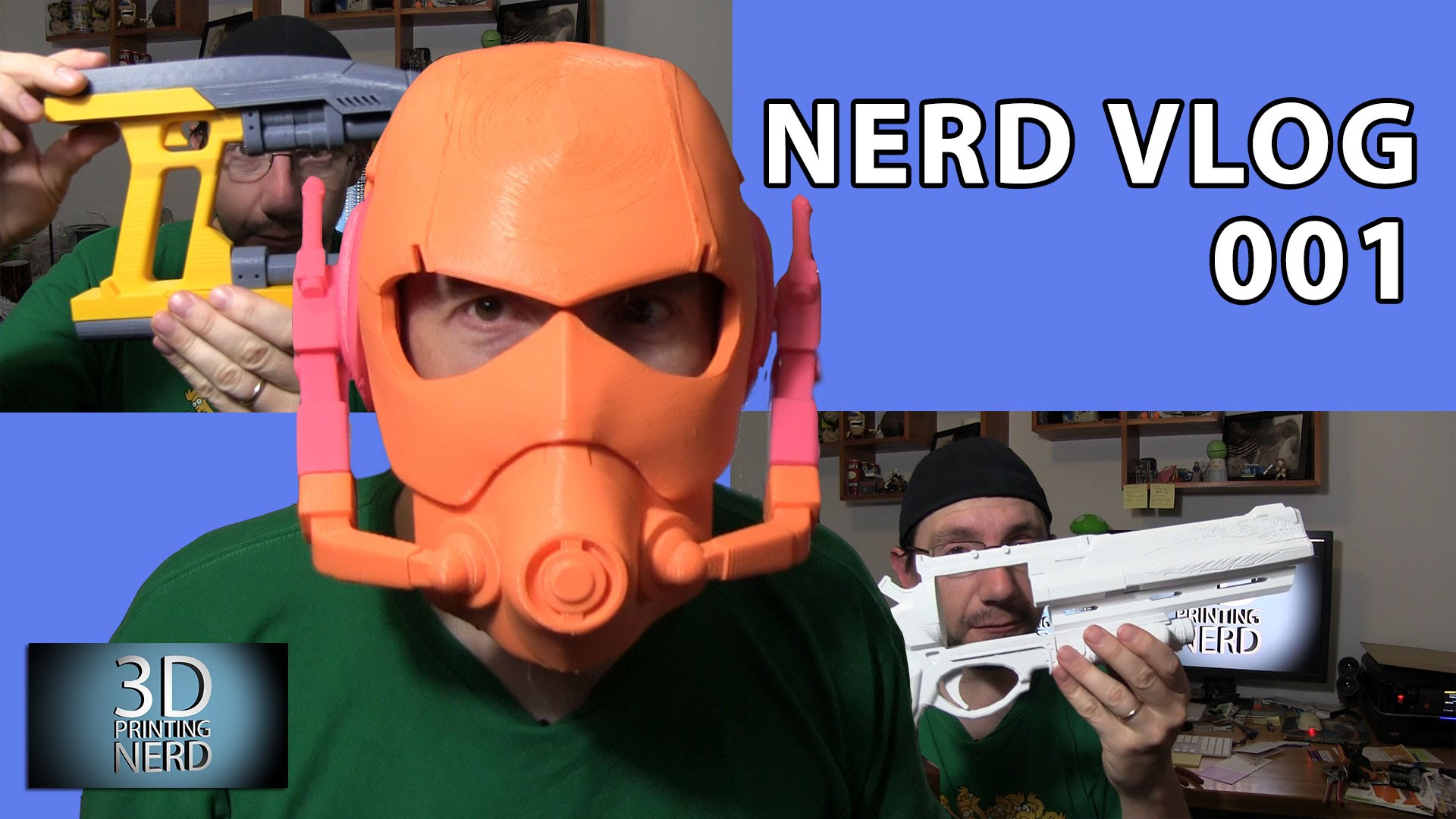 Star-Lord, Ant-Man, and Hawkmoon! Nerd Vlog 001