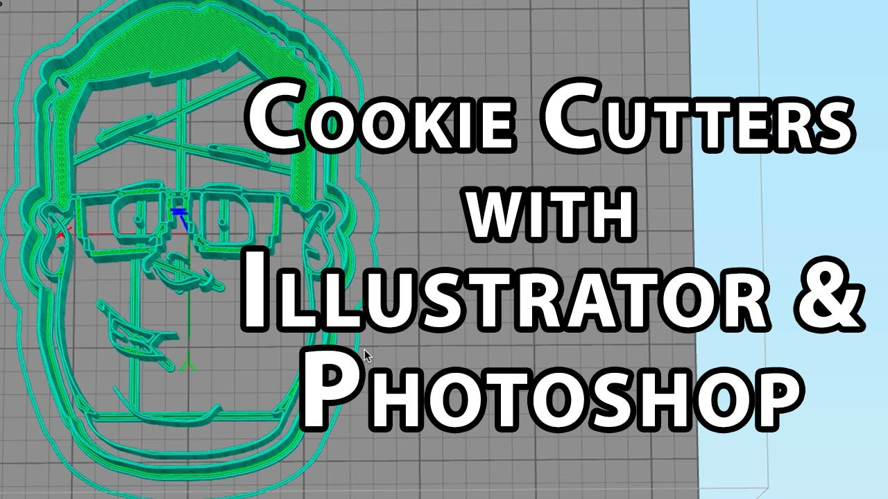 Barnacules Cookie Cutters with Illustrator & Photoshop