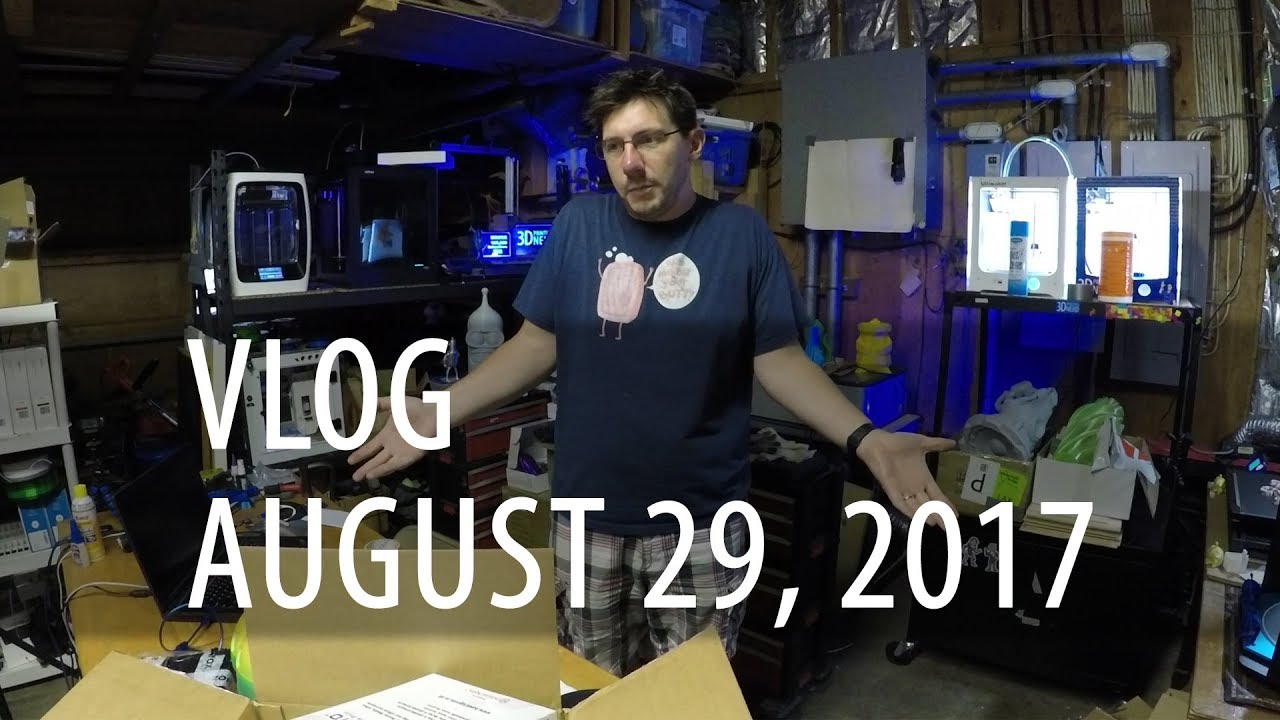 VLOG – Anet E10, Robo R2, Zortrax, Formbot TREX2+, TEVO Little Monster, Hawk 3D Proto Filament