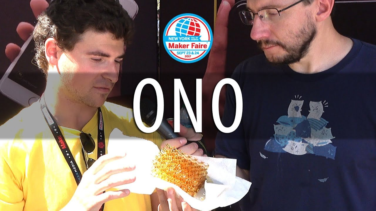 The ONO Resin 3D Printer – Working! At #MFNY17 Maker Faire New York