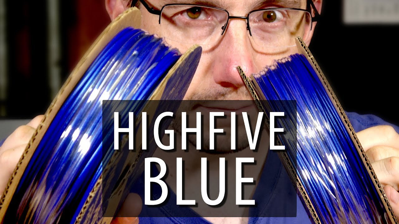 The BEST BLUE Filament For 3D Printing – Highfive Blue from Proto-Pasta!