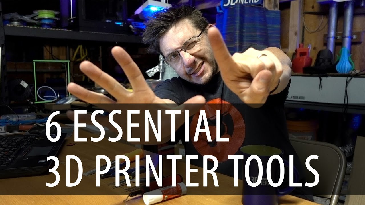 My 6 Essential Tools for 3D Printing – Keep These Near Your 3D Printer