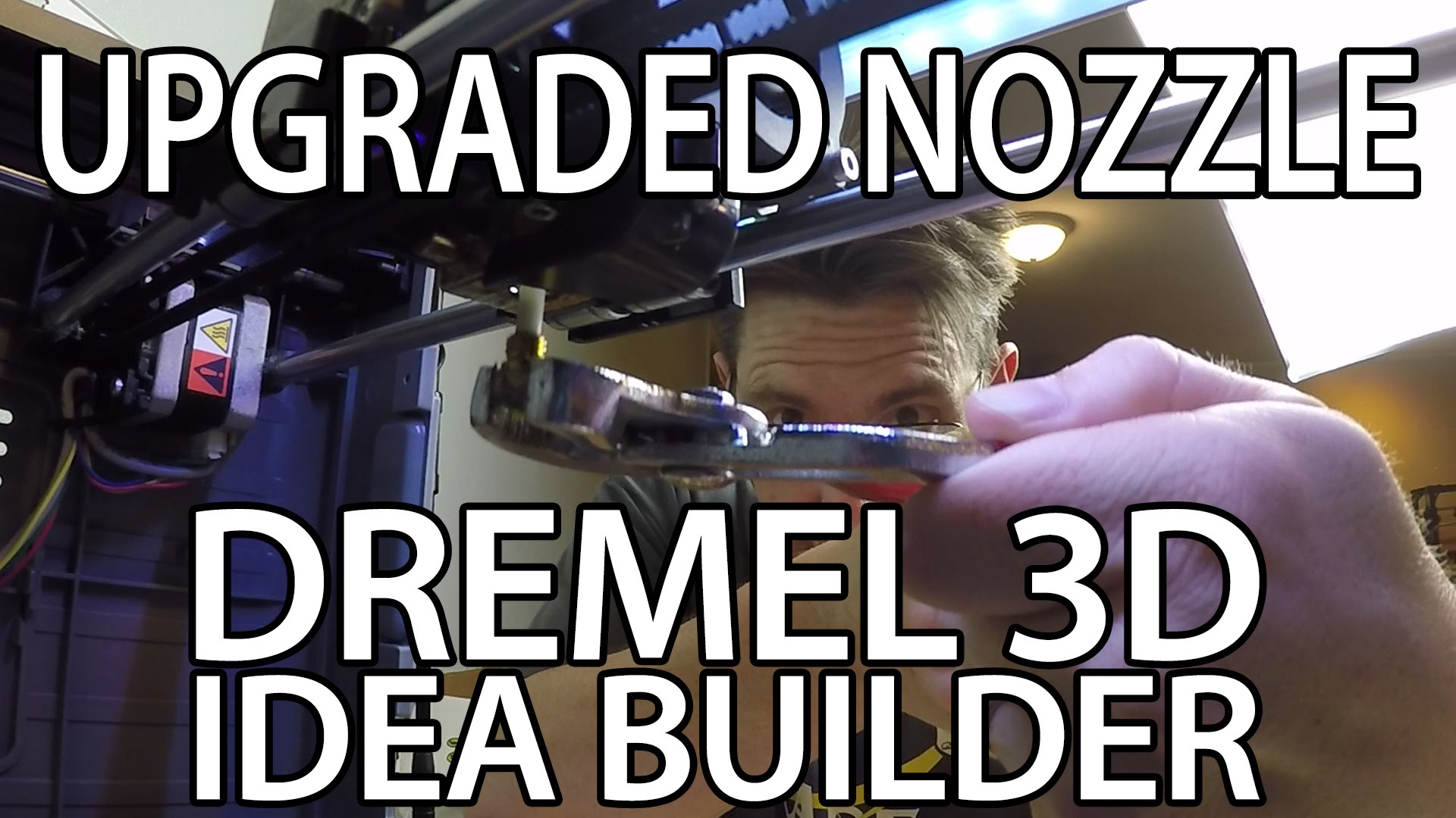 Upgrade the Nozzle on the Dremel 3D Idea Builder