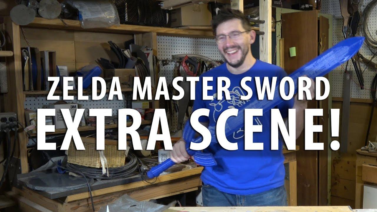 EXTRA SCENE! – Zelda Master Sword