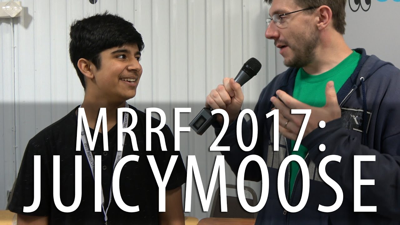 #MRRF2017: 3D Printing Interview with JuicyMoose Productions