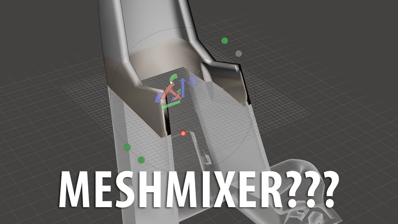 Meshmixer Is Not Scary / How To Use Plane Cut To Slice Large Models for Better 3D Printing