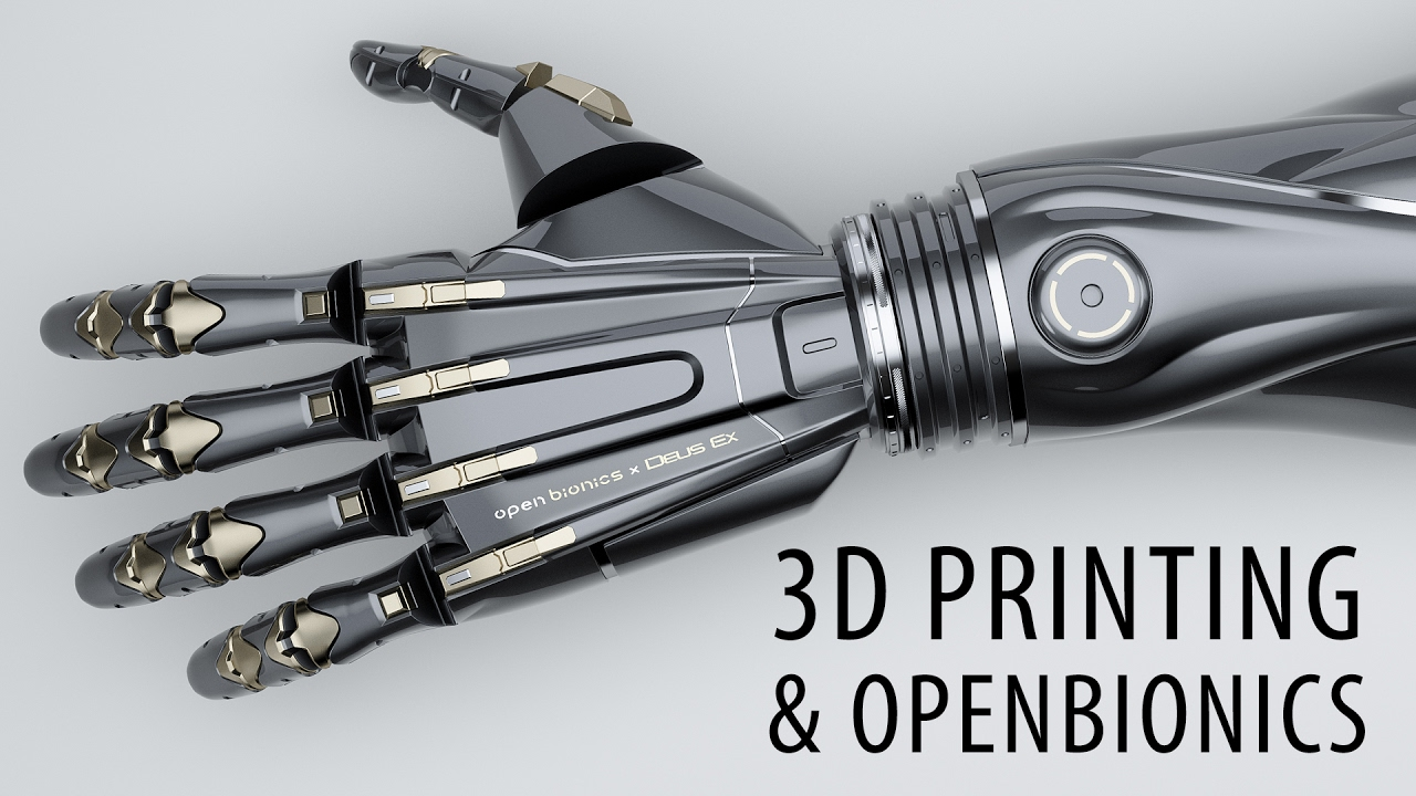 Open Bionics is 3D Printing Awesome Prosthetics