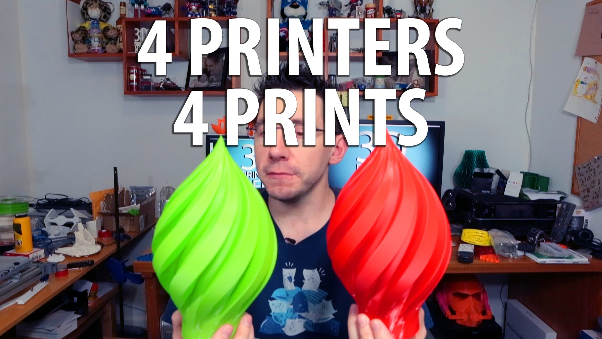 3D Printing: 4 3D Printers 4 3D Prints