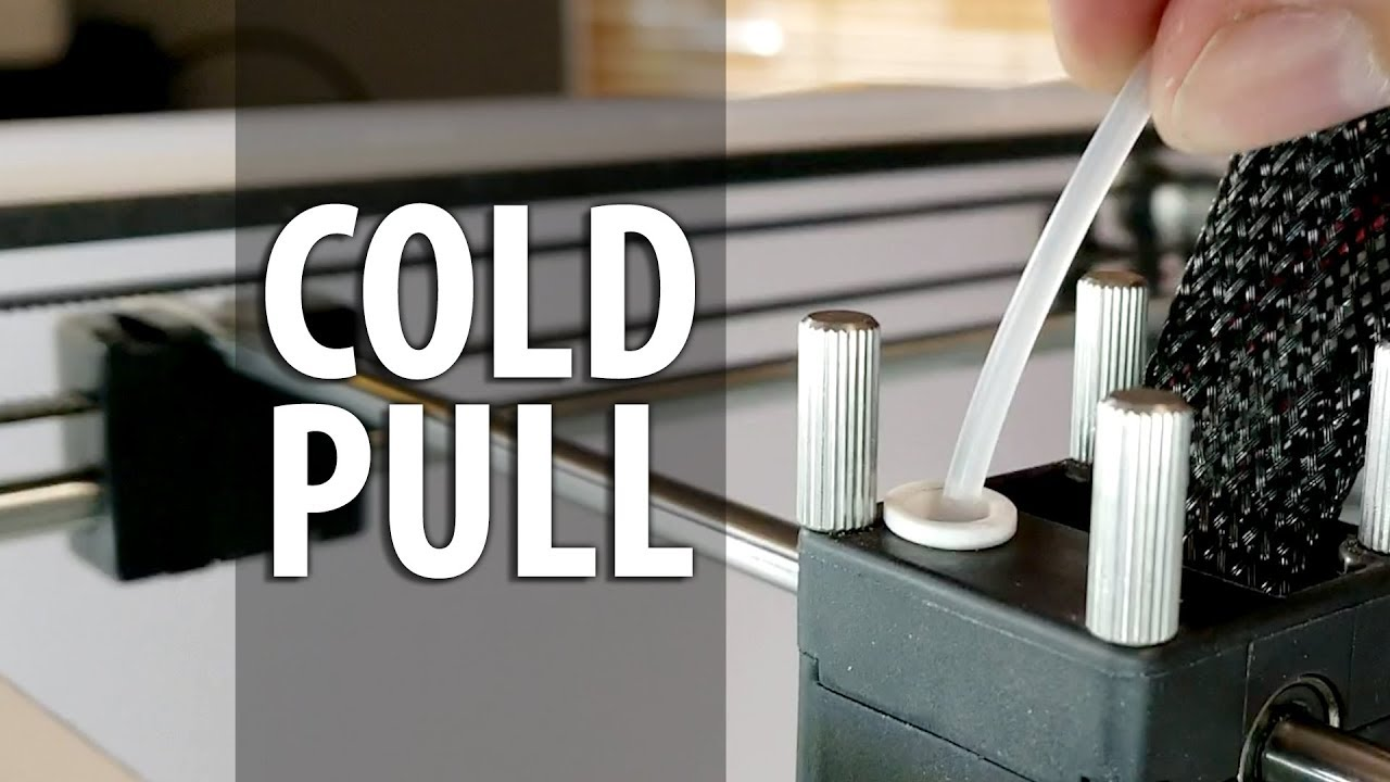 3D Printing 101: How To Fix a Clogged Nozzle Using a Cold Pull!