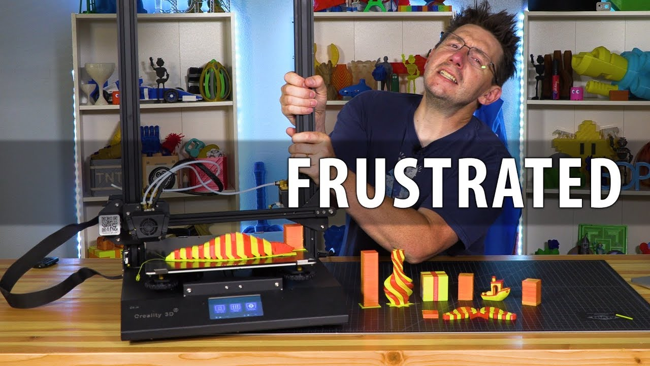 The Unfortunate Problem with the Creality CR-X 3D Printer